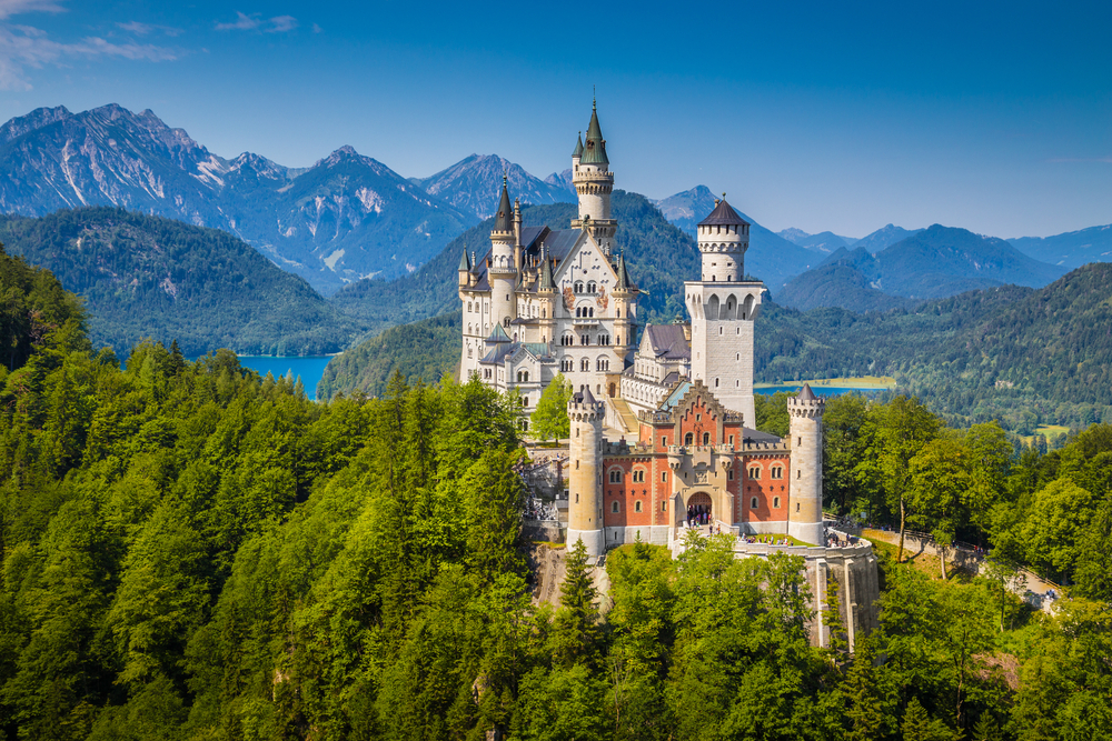 3.Germany – Central Western Europe.