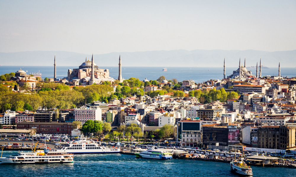 5.Turkey –  Southeastern Europe.