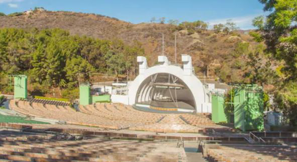 Top 13 beautiful places to visit in Los Angeles - Hollywood Bowl amphitheater for music concerts