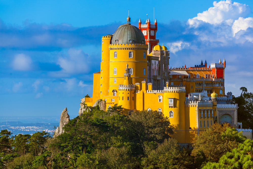 Portugal citie Sintra Best amazing places to explore