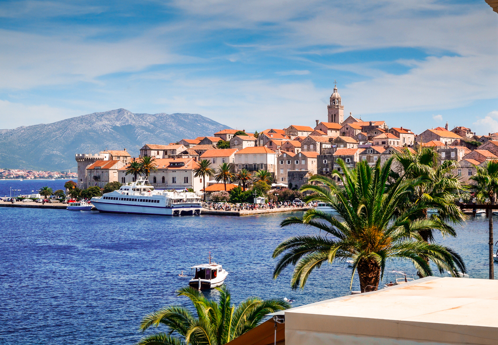 """5. Korcula – """"A sweet September laid-back beach hideout from the bustling towns and cities."""""""