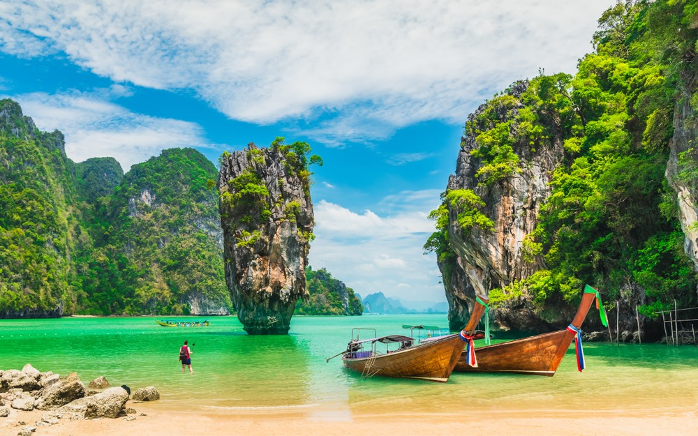 Best Places to Visit in Thailand James Bond Island