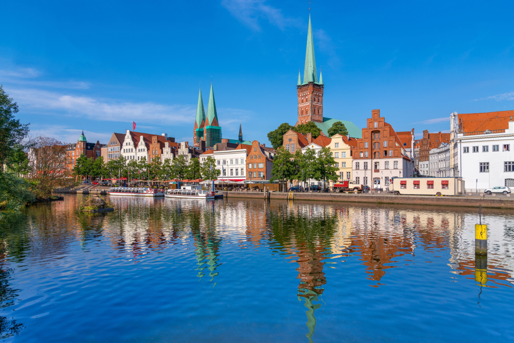 Major Cities in Germany Lubeck