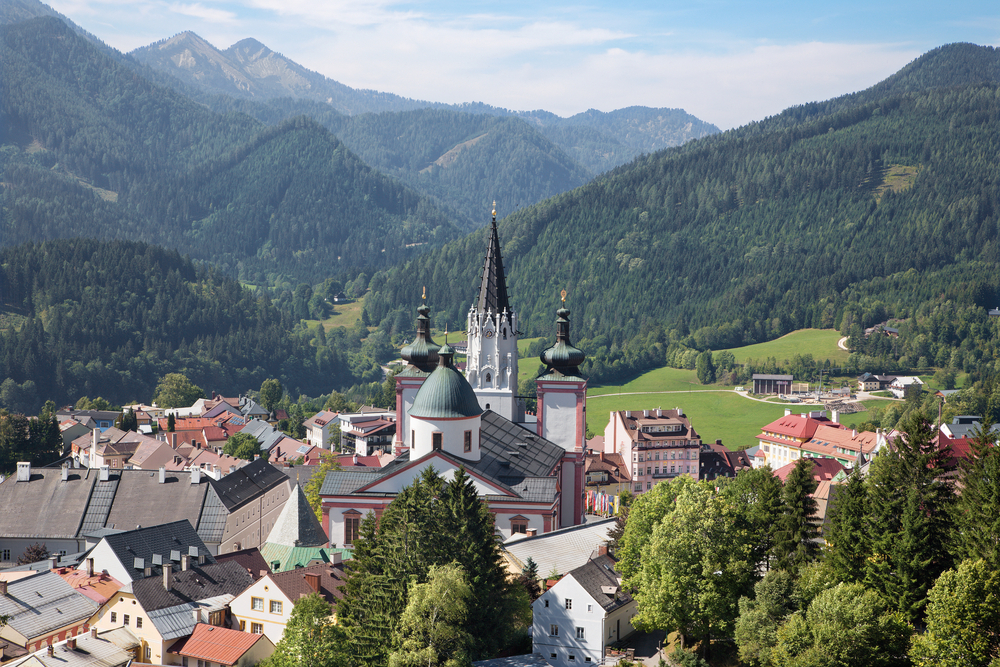 Cities in Austria -  Mariazell