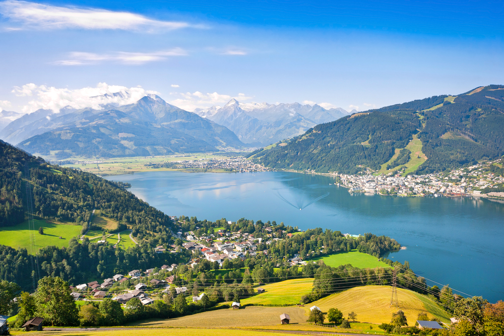 Cities in Austria -  Zell am See
