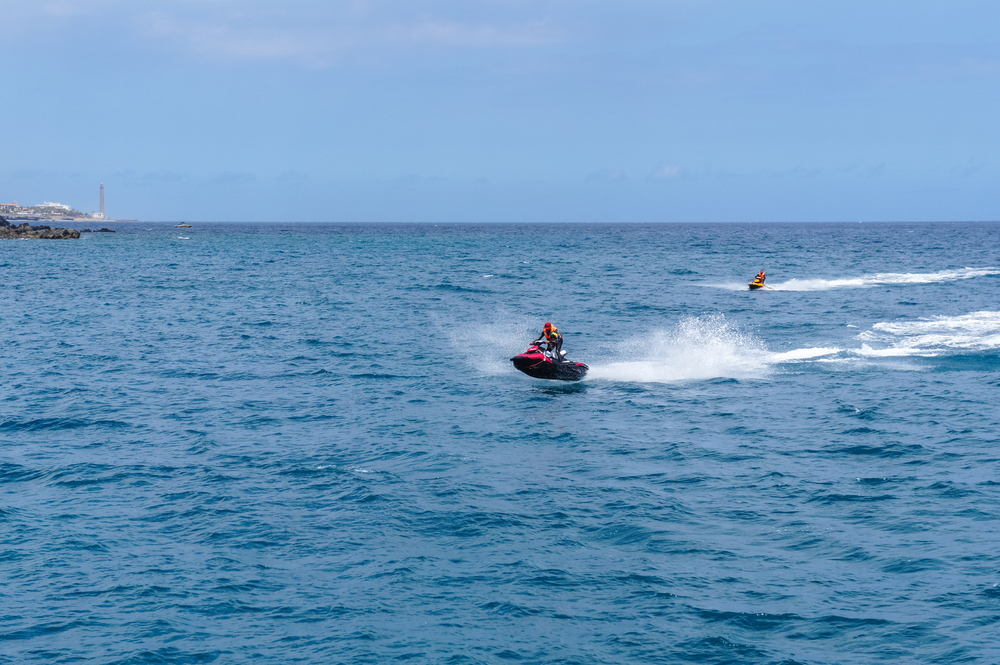 Enjoy Jet ski at Gran Canaria in Winters