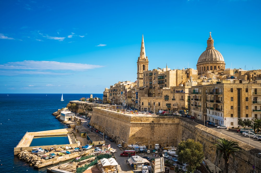 3. Marvel at Valletta's Elegance