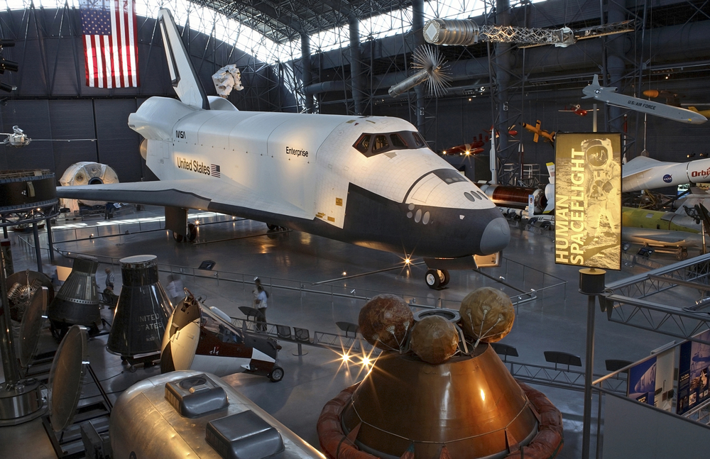 Steven F. Udvar-Hazy Center:  Places to visit in Virginia