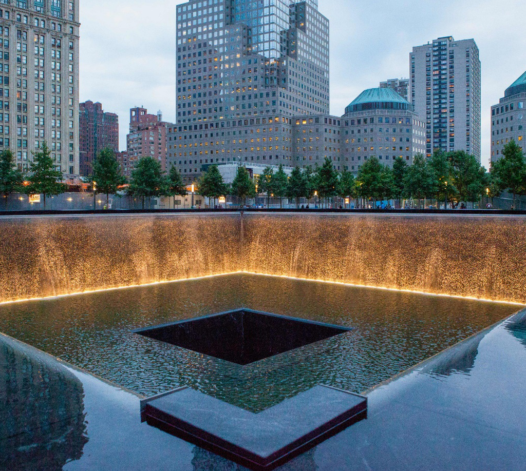 Stroll through the 9/11 Memorial