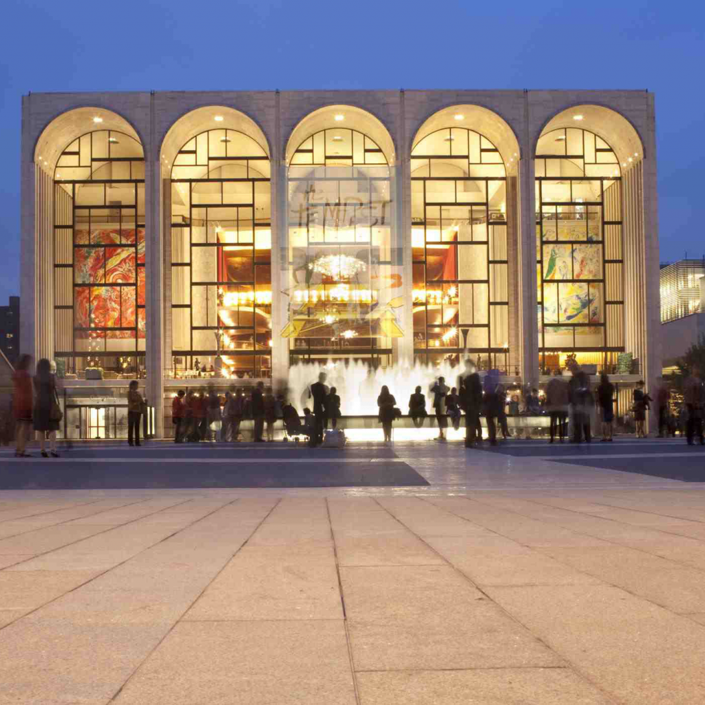 Visit Lincoln Center for the performing arts