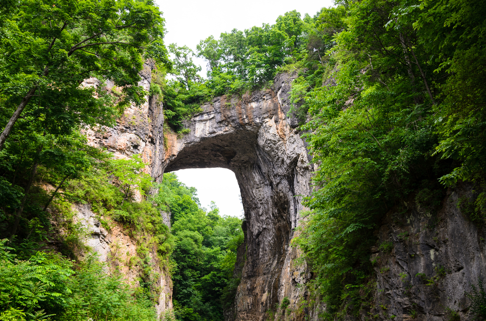 Natural Bridge:  Places to visit in Virginia
