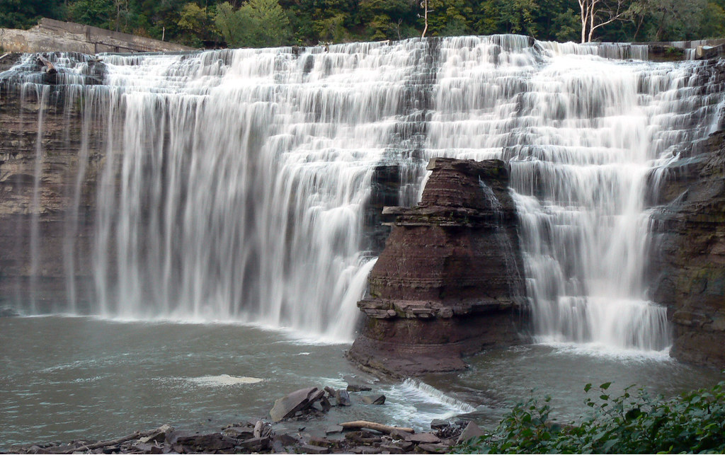 3. Lower Falls, Genesee River, Rochester :
