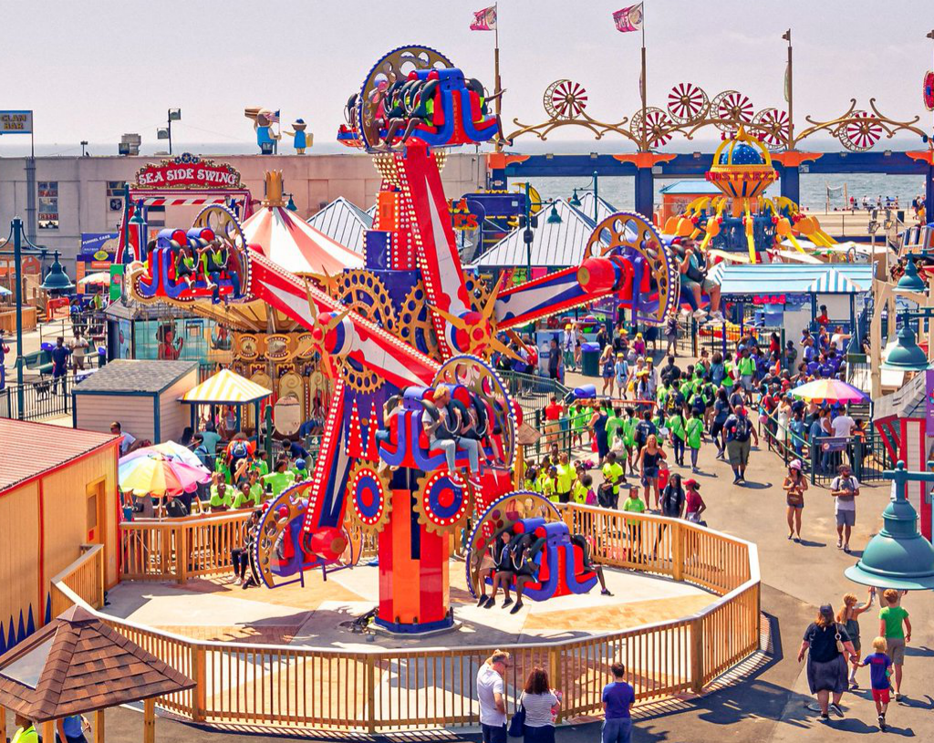 4. Spend a playful day at the Luna Park at Coney Island