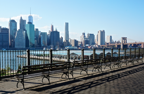 5. Take in the views of Manhattan Skyline from the Brooklyn Heights Promenade