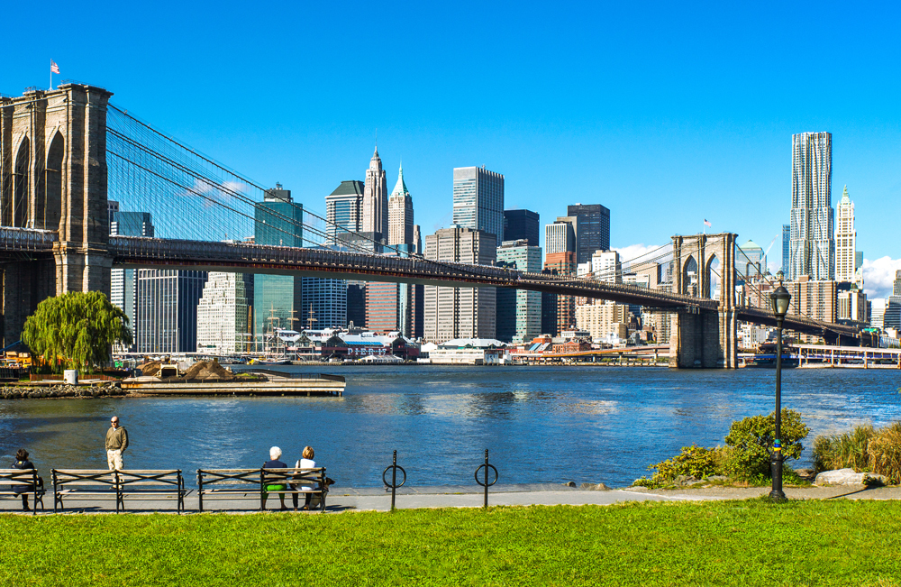 8. Have a sporty day at the Brooklyn Bridge Park