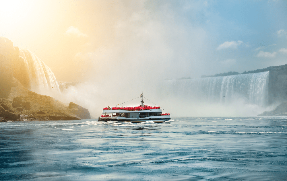1.The Ferry Ride to the Falls: Maid of the Mist :