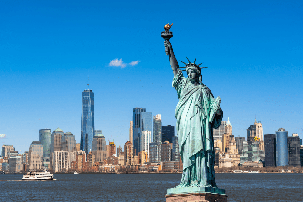 2. To watch the icon Statue of Liberty :
