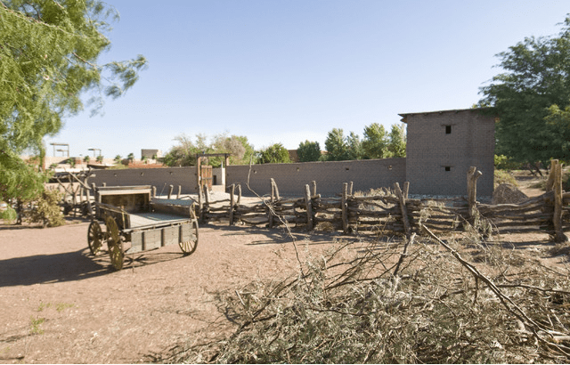 12. Explore the true Downtown history at the Old Las Vegas Mormon Fort :